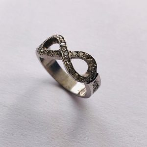 Figure Eight Diamond Ring